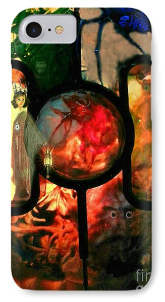 Hecate- Queen Of The Crossroads And Underworld IPhone Case by Steed Edwards