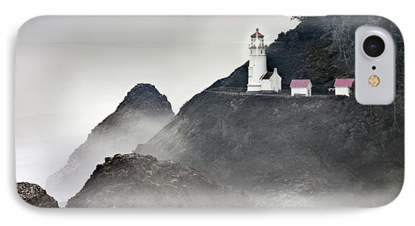 Heceta Head Lighthouse IPhone Case by Leland D Howard
