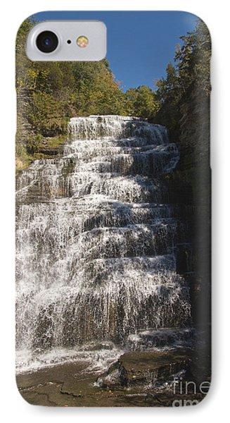Hector Falls IPhone Case by William Norton