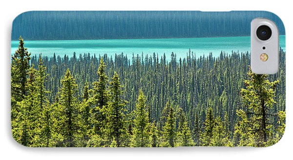 Hector Lake, Banff National Park IPhone Case by Michel Hersen