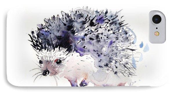 Hedgehog IPhone Case by Krista Bros