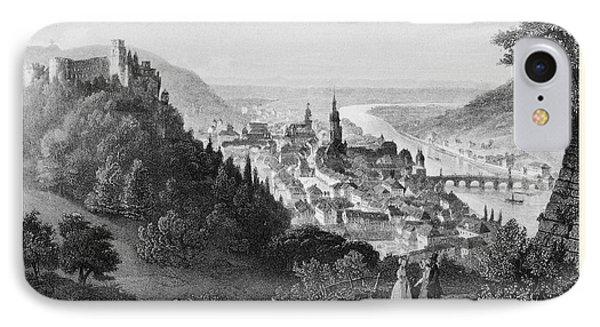 Heidelberg Etching IPhone Case