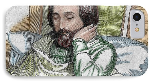 Heinrich Heine (dusseldorf, 1797-paris IPhone Case by Prisma Archivo