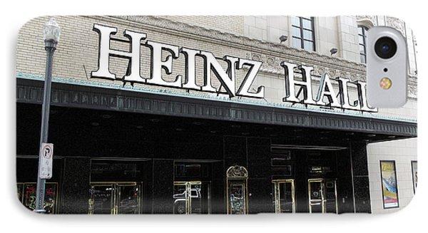 Heinz Hall IPhone Case