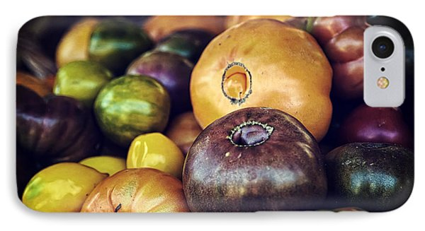 Heirloom Tomatoes At The Farmers Market IPhone Case by Scott Norris
