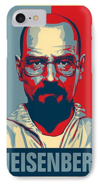 Heisenberg IPhone Case by Taylan Apukovska