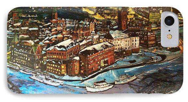 Hej Stockholm IPhone Case by Belinda Low