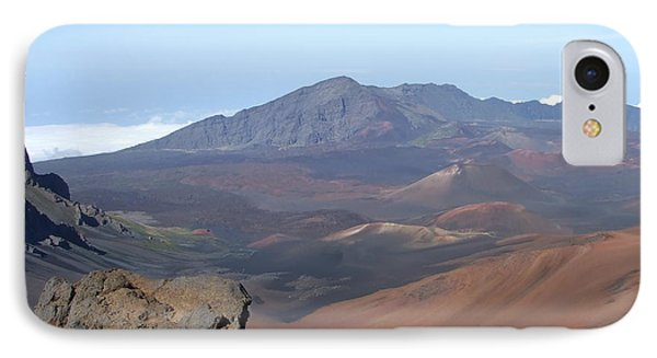 IPhone Case featuring the photograph Heleakala Volcano In Maui by Richard Reeve