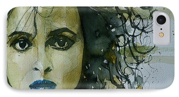 Helena Bonham Carter Phone Case by Paul Lovering