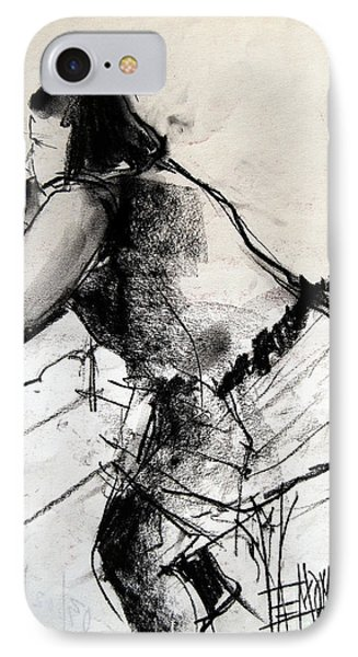 Helene #2 - Figure Series IPhone Case by Mona Edulesco
