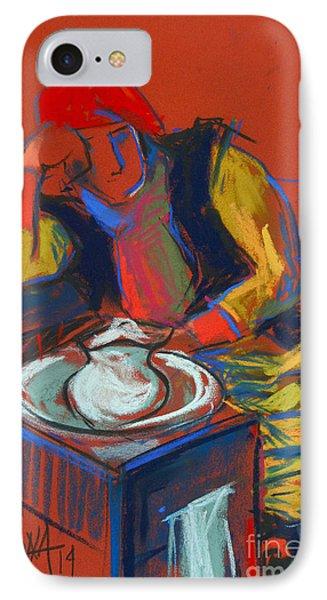 Helene #4 - Figure Series IPhone Case by Mona Edulesco