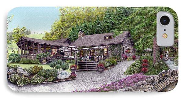 Helen's Restaurant At Seven Springs Phone Case by Albert Puskaric