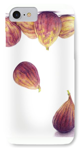 Helium Figs Phone Case by Paula Pertile