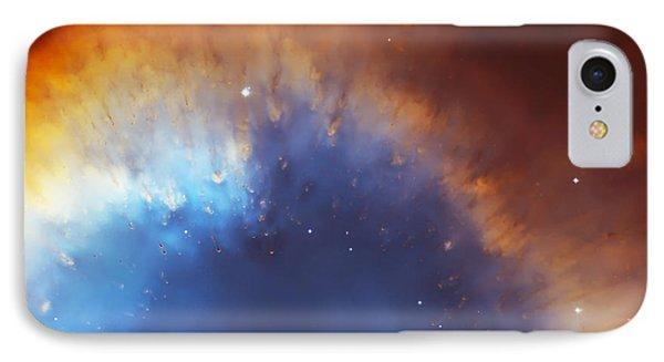 Helix Nebula Close Up IPhone Case by Jennifer Rondinelli Reilly - Fine Art Photography