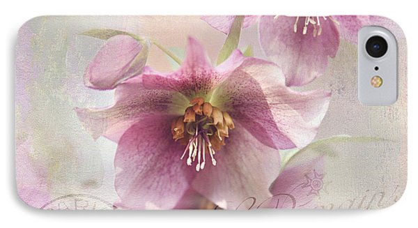 IPhone Case featuring the photograph Hellebore by Sylvia Cook