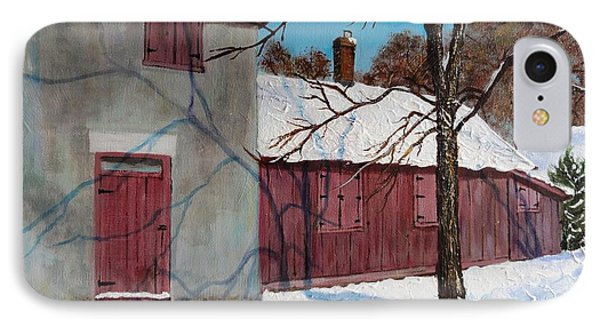 Helliwell House Todmorden IPhone Case by Diane Arlitt