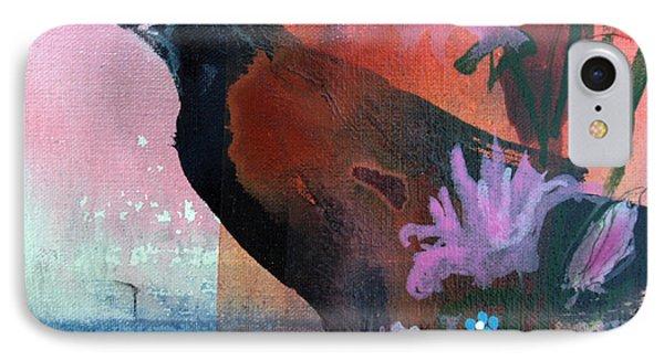 Hello Crow Phone Case by Robin Maria Pedrero