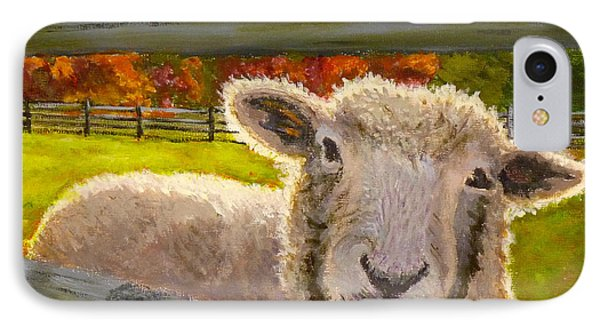 IPhone Case featuring the painting Hello by Joe Bergholm