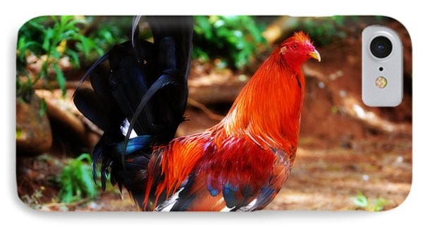 Hello Rooster IPhone Case