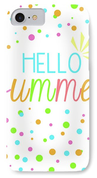 Hello Summer IPhone Case