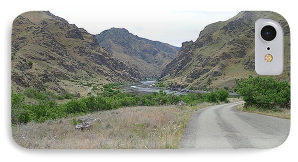Hells Canyon And The Snake River IPhone Case by Joel Deutsch