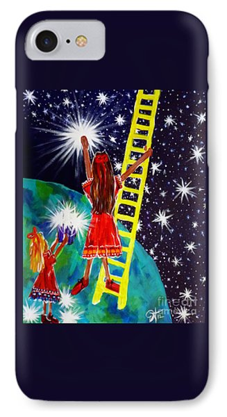 Helping Hands IPhone Case by Jackie Carpenter