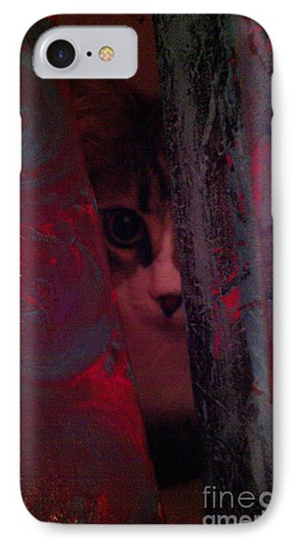 IPhone Case featuring the photograph Helping In The Art Studio by Jacqueline McReynolds