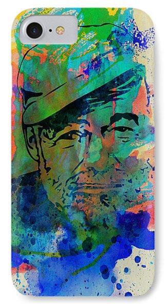 Hemingway Watercolor IPhone Case by Naxart Studio