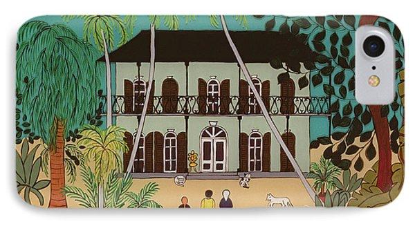 Hemingways House Key West Florida IPhone Case