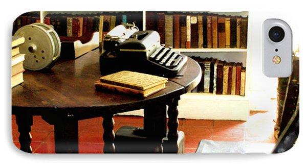 Hemingway's Studio Ernest Hemingway Key West IPhone Case by Iconic Images Art Gallery David Pucciarelli