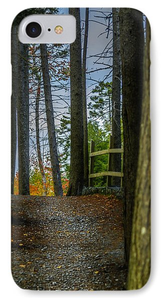 Hemlock Ravine Park IPhone Case by Ken Morris