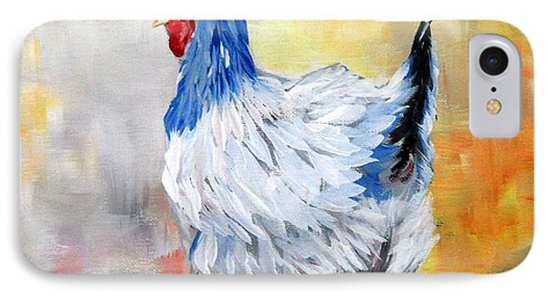 Hen Phone Case by Dorothy Maier