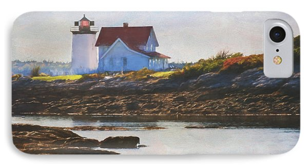 Hendricks Head Lighthouse - Maine IPhone Case by Jean-Pierre Ducondi