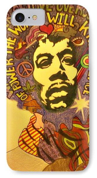 Hendrix IPhone Case