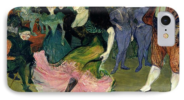 Henri De Toulouse-lautrec, Marcelle Lender Dancing IPhone Case by Quint Lox
