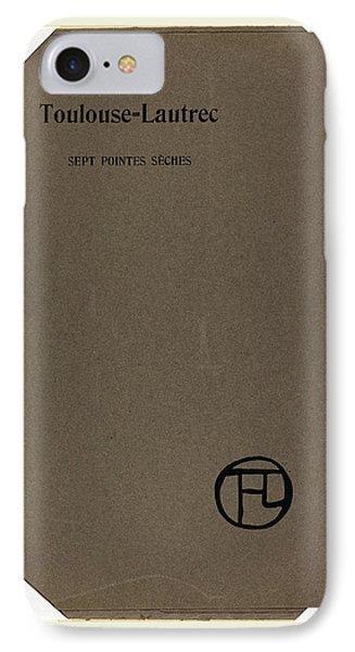 Henri De Toulouse-lautrec, Sept Pointes Seches IPhone Case
