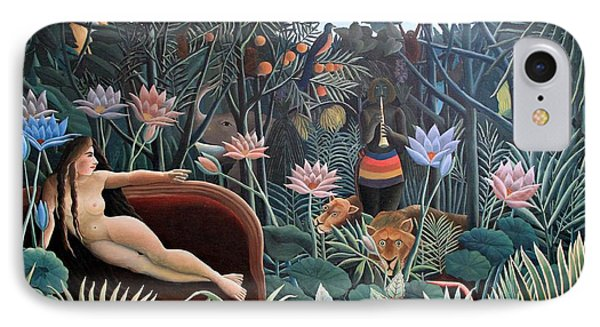 Henri Rousseau The Dream 1910 IPhone Case by Movie Poster Prints