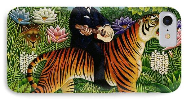 Henri Rousseaus Dream IPhone Case by Frances Broomfield