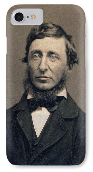 Henry David Thoreau IPhone Case by Celestial Images