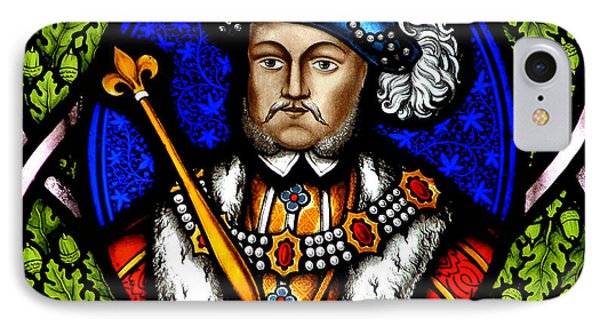 Henry Viii IPhone Case by John Topman