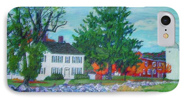 Henry Warren House And Barn IPhone Case