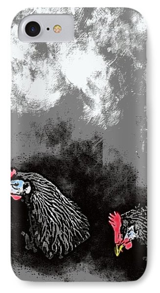 Hens At Rest Phone Case by George Pedro