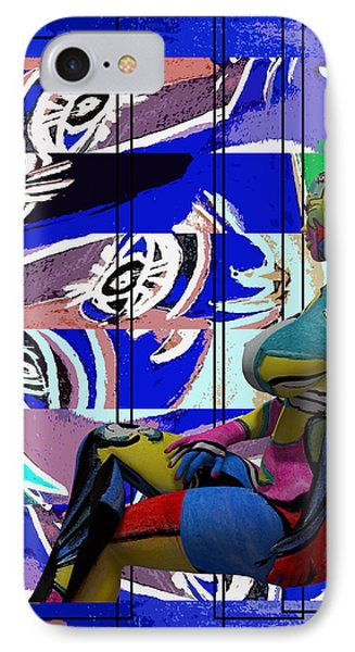 Her Abstract Journey IPhone Case