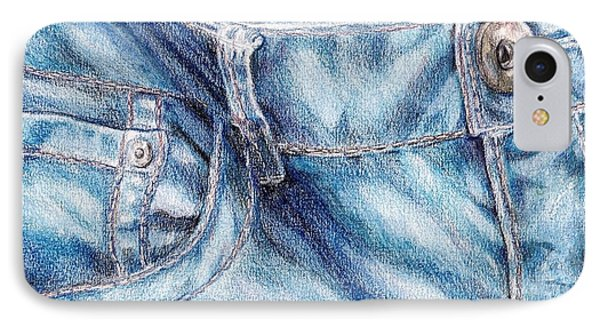 Her Favorite Pair Of Jeans IPhone Case
