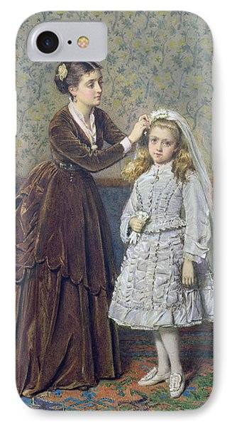 Her First Communion Phone Case by George Goodwin Kilburne