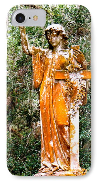 IPhone Case featuring the photograph Her Guardian Angel by Joy Hardee