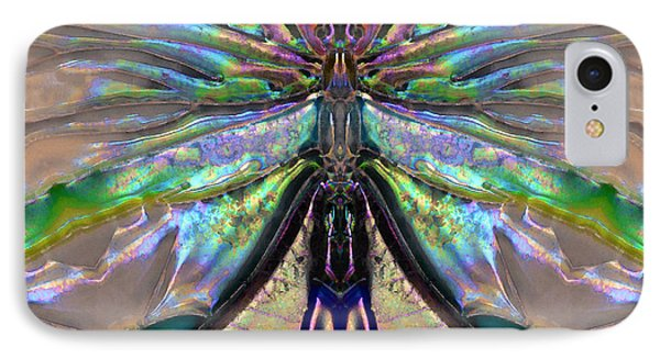 Her Heart Has Wings - Spiritual Art By Sharon Cummings IPhone Case by Sharon Cummings