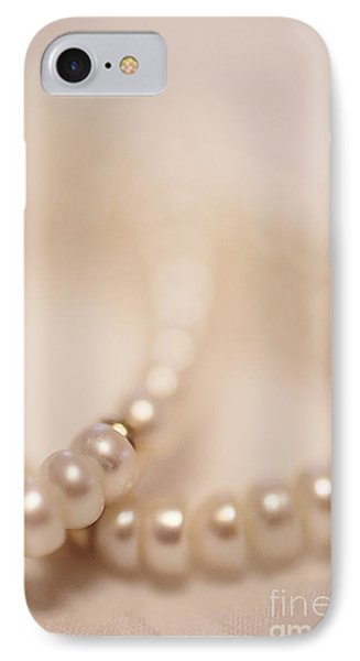 Her Pearls Phone Case by Trish Mistric
