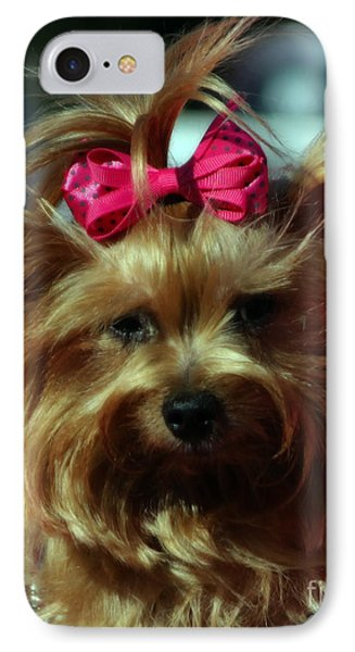 Her Pinkness Phone Case by Steven  Digman