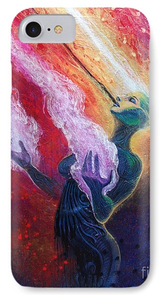 Her Power Is Within IPhone Case by Tony Koehl